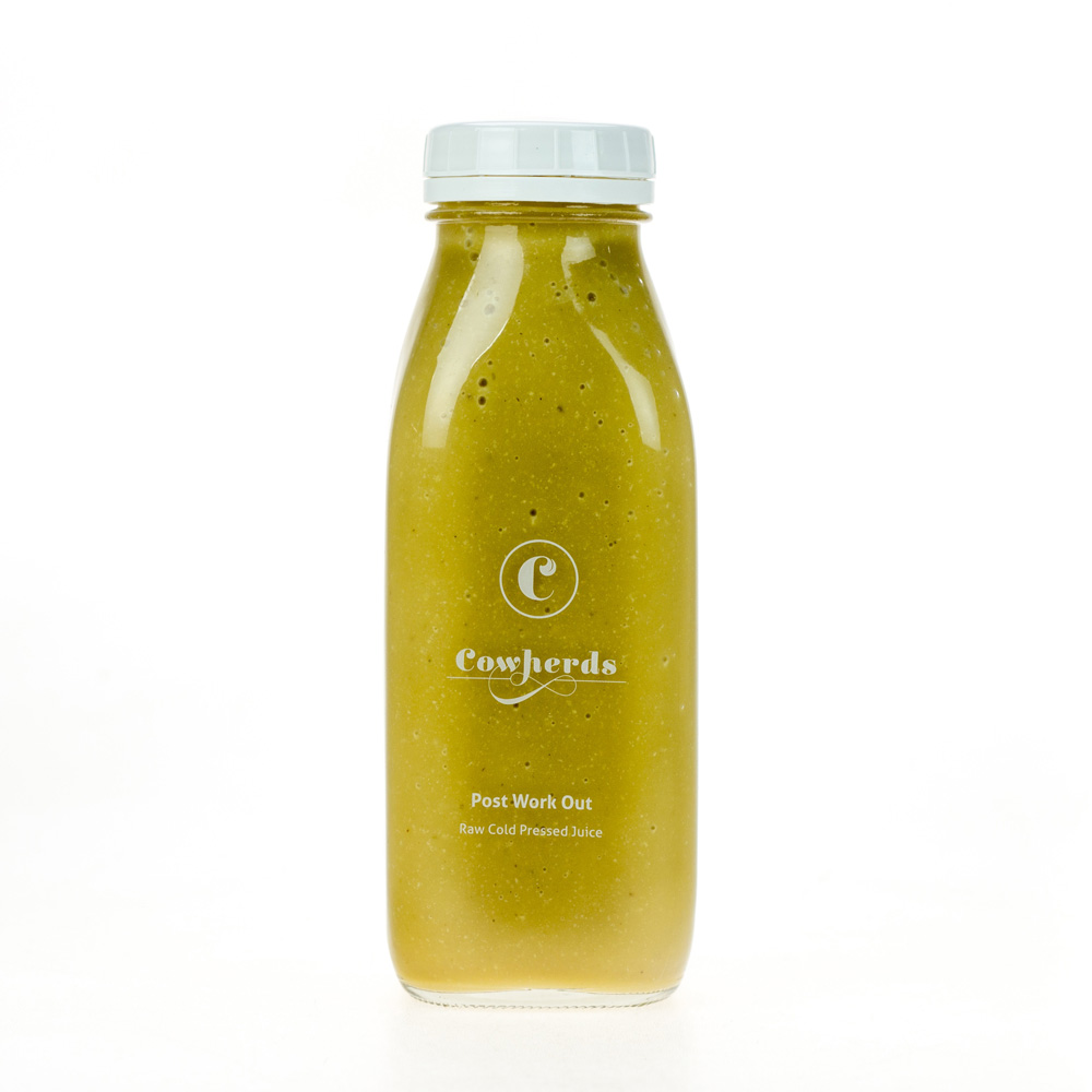 Post-Workout raw cold pressed juice - cowherds