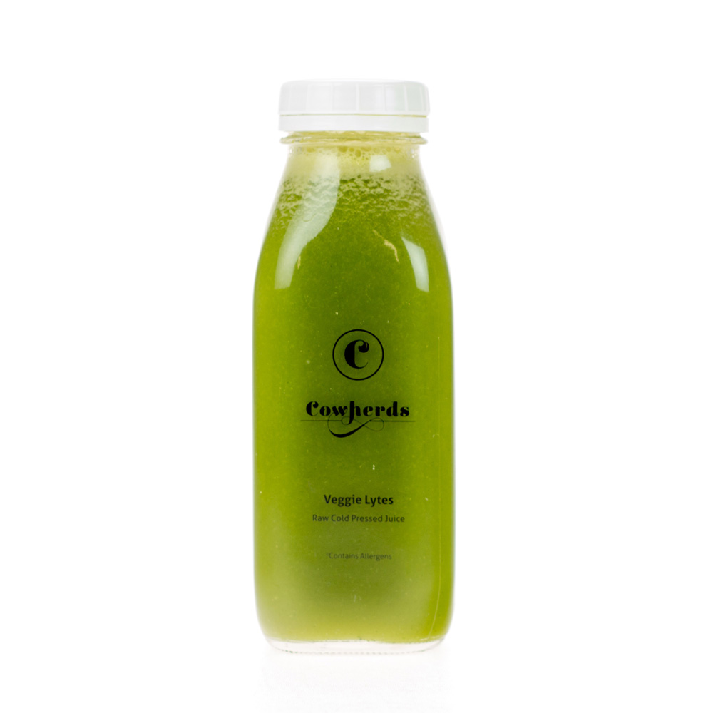Veggie Lytes raw cold pressed juice - cowherds